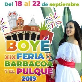 Feria de la Barbacoa y el Pulque Boyé 2019