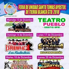 Feria Tierra Blanca 2018