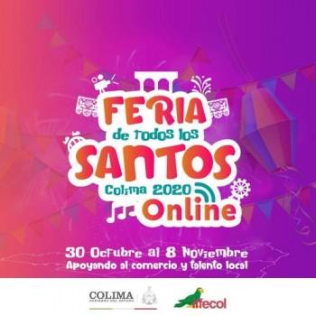 Feria Virtual de Todos los Santos Colima 2020