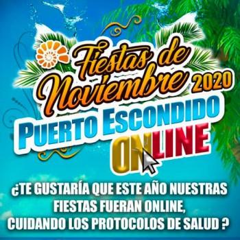 Fiestas de Noviembre Puerto Escondido 2020