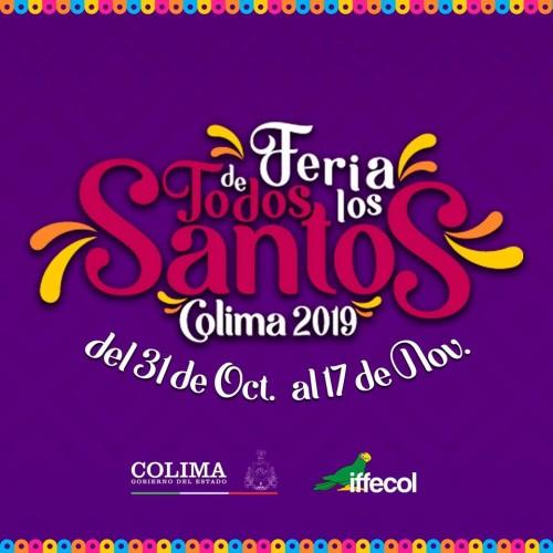 Feria de Todos los Santos Colima 2019