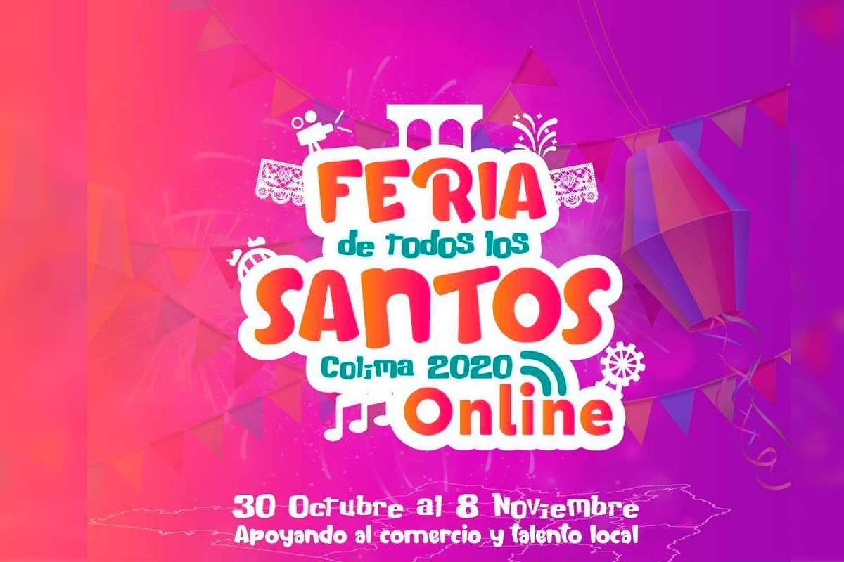 Hay Feria en línea de Todos los Santos 2020 en Colima