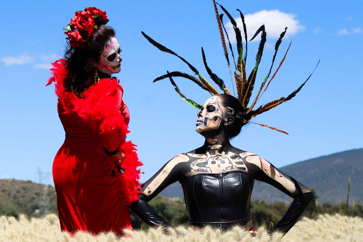 Vuelve Cumbre de Catrinas a Teotihuacán, la fiesta de temporada de día de muertos