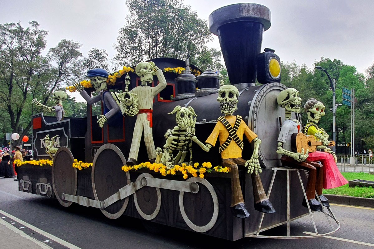 La Ciudad de México renace y regresa a la vida las festividades de Día de Muertos