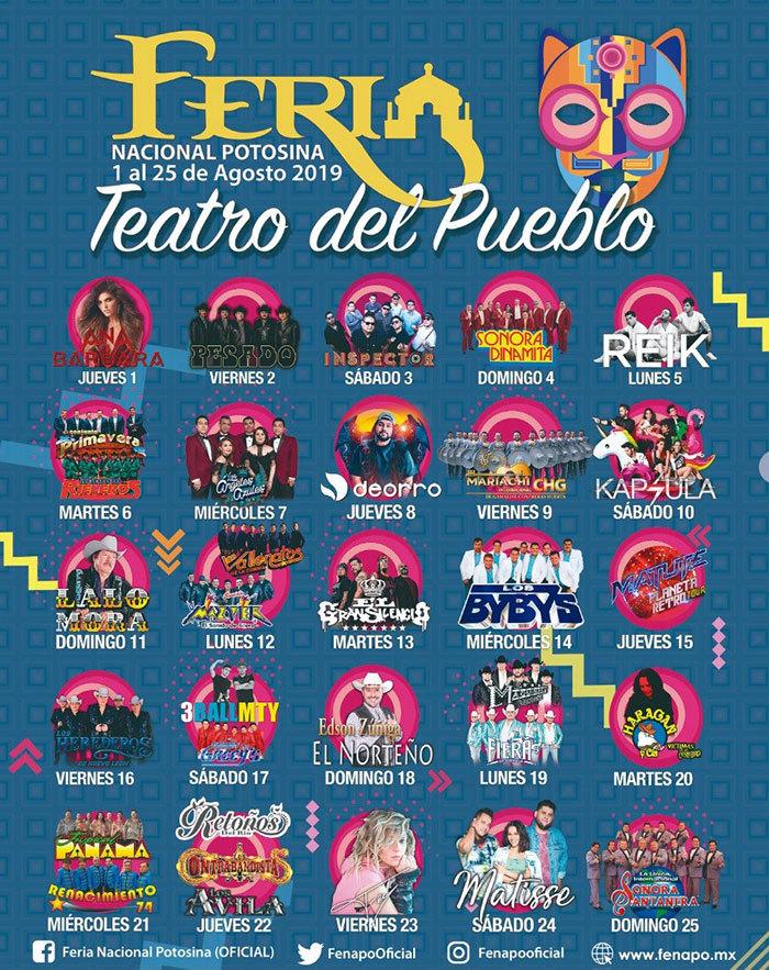 fenapo 2019 teatro pueblo